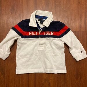 5/20 Tommy Hilfiger long sleeve polo 18 month
